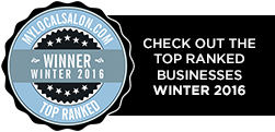 Top ranked businesses for Winter 2016